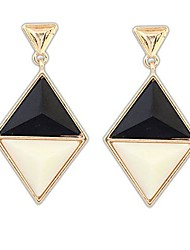 Women's Fashion Rhombus Stud Earring