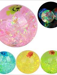 Colored Ribbons Plus Fish  Crystal Ball (Random Color)