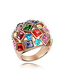 Elizabeth Crystal  Luxury Queen Ring