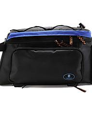 rongruihr panno impermeabile indossabile mountain bike sacchetto impermeabile blu e nero 1608d tronco con striscia riflettente