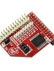 doble vía tarjeta de expansión gpio / voltaje seleccionable / puede conectar en cascada / protección io
