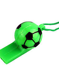 Random Color - 1pcs Soccer Cheer Lanyard Whistle for World Cup