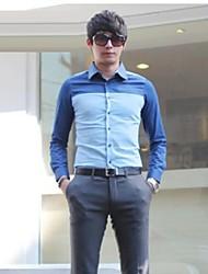 Man Long Sleeve Shirt Leisure Business