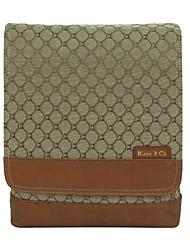Khaki de Kate & Co mulheres figuradas pano real Pano Bolsa Multi-Function