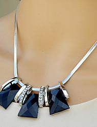 seção geometria high end moda myjk curto jóia colar incrustado com strass