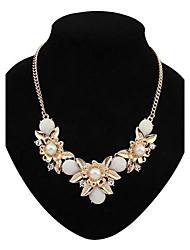 Bohême de mode de collier de fleur de dossard des femmes