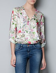 Women's Tops & Blouses , Chiffon Casual Loved One