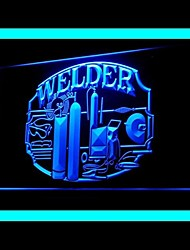Welding Machine Advertising LED Light Sign