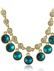 Women's Alloy/Rhinestone Necklace Gift/Daily Crystal