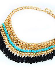 Meet You Austrian Tassels Necklace