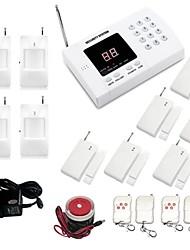 Wireless 99 Zone PSTN Auto Dial Zone Alarm Burglar Alarm System  set