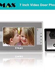 TMAX® 7 Inch Color TFT LCD Video Door Phone with 500TVL Night Vision Camera