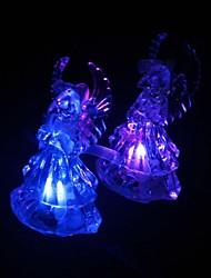 mariage décor acrylique ange veilleuse-set de 3 (formes aléatoires)