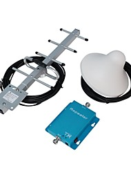 62dB 850MHz Cell Phone Signal Booster/Repeater/Amplifier with Ceiling and Yagi Antennas