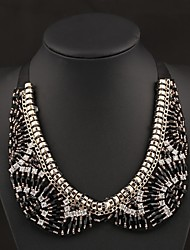élégant ellipsoïde gemme collier necklac des femmes Senlan