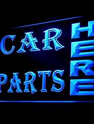 Car Parts Advertising LED Light Sign
