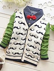 Pullover & Strickjacken ( Baumwolle ) - für BOY - Micro-elastisch - Medium - Langarm