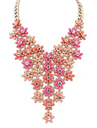Women's EU&US Fashion Cute Exquisite Layers Florals Gorgeous Bib Statement Necklace (More Colors)(1 pc)
