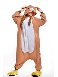 Kigurumi Pijamas nueva Cosplay® Oso Leotardo/Pijama Mono Festival/Celebración Ropa de Noche de los Animales Halloween Naranja RetazosLana