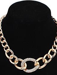 Baizi простой золото ожерелье способа