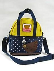 Pois ours sac d'épaule de sac à main pour enfants de garçon de fille de sac Messenger