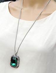 moda siyun ponta do vintage longo colar de jóia