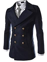 Мужская Повседневная мода Пальто