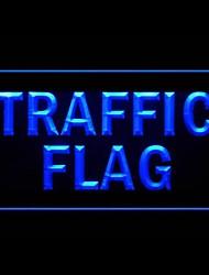 Bandeira Tráfego Publicidade LED Sign