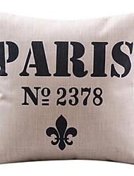 algodón paris moderna / ropa cubierta decorativa almohada