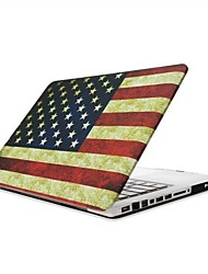 Appson® American Flag Pattern Folio Body Protection PC Material Hard Shell for 13.3 inch Macbook Retina