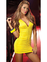 Women's Dresses , Polyester Casual Sexy Queen
