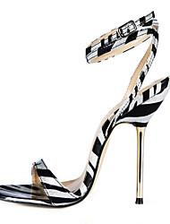Frauen Pfennigabsatz Slingback-Sandalen Schuhe (mehr Farben)