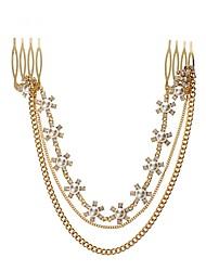mode bloem kristal ketting haar sieraden trinket nieuwe 2014