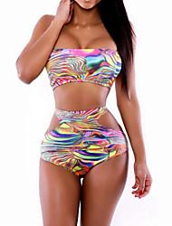 Women's  Fashion Sexy Hollow Print Swimwear