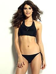 Atractiva de Women Secret con cuentas cabestro arriba y Panty de baño bikini