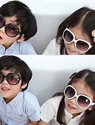 Children's Fashion Sunglasses Large Frame Sunglasses Simple and Elegant Boys and Girls(Assorted Color)