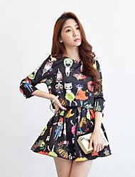 Fenyier ™ Women's  Leisure  Sleeves Two Piece Dress Suit