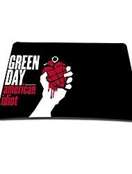 зеленый день игровой оптический наведении мышки коврик (9 * 7 дюймов)