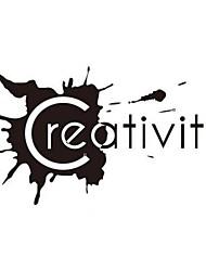 Vlife exagerada personalizados adesivos de parede moda criatividade