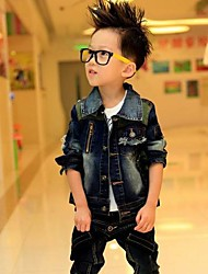 Boy's Denim Jacket & Coat,Spring / Fall Solid