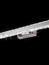 Crystal / LED Bathroom Lighting,Modern/Contemporary LED Integrated Metal