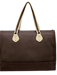 Women PU / Canvas Casual Tote Multi-color
