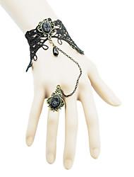 Coolshine Bola Bracelet Lace Com Anéis-2014-201-LSL042