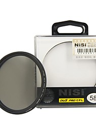 NISI® 58mm PRO CPL Ultra Thin Circular Polarizer Lens Filter