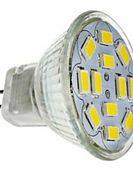 JUXIANG Dekorativ Spot Lampen MR11 GU4 5 W 560 LM 6000-6500 K 12 SMD 5730 Kühles Weiß DC 12 V