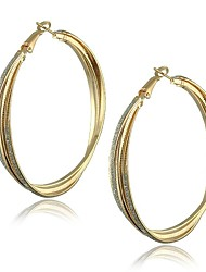 Hoop Earrings Women's Alloy Earring