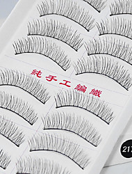 10 Pairs Thick Lower False Eyelashes