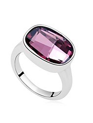 Women's 18KPP Crystal The Only One Statement Ring (More Colors) (1 pc)