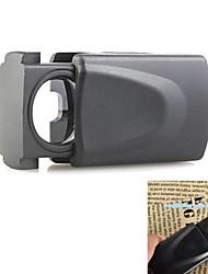 ZW-21008 30x21mm Sieraden vergrootglas met 1-led wit licht (3 x LR1130)
