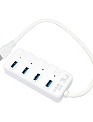 SUNWEIT 4-Port High Speed USB 3.0 Hub For Desktop Laptop with Super Speed 5Gbps